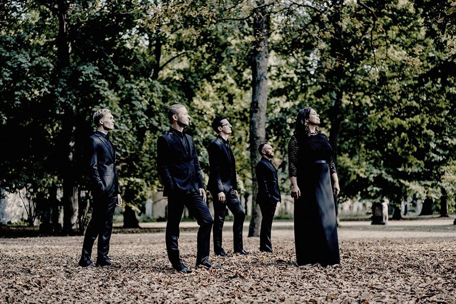 Calmus Ensemble group photo